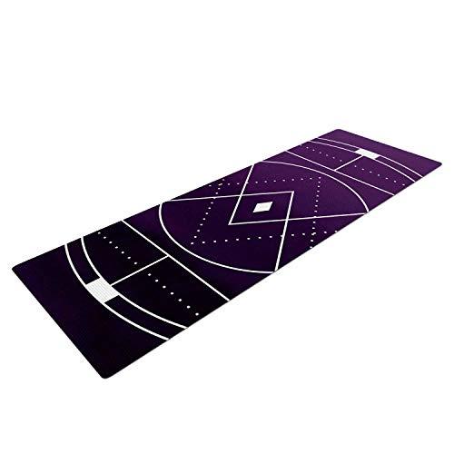 - Yummy Eletina Matt Eklund Mystic City Purple Digital Mat, 72