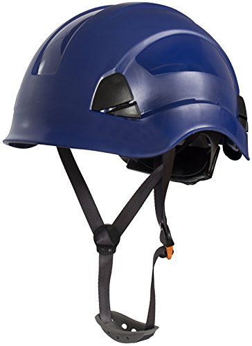 Climbing & Rope Access, Linesman Safety Helmet (Black) SafetyLiftinGear