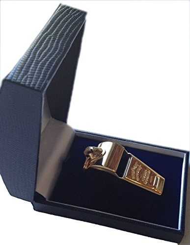 Acme Thunderer 58.5 Gold-plated (in blue presentation box) Large - 58.5GP by The Acme