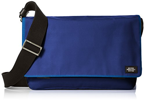 Jack Spade Men's Waxwear Zip Messenger, Royal Blue for sale  Delivered anywhere in USA