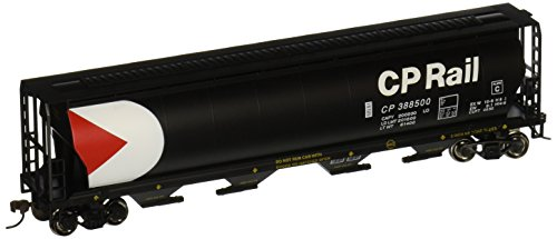 Bachmann Trains Canadian Pacific 4 Bay Cylindrical Grain (Bachmann Cylindrical Hopper)