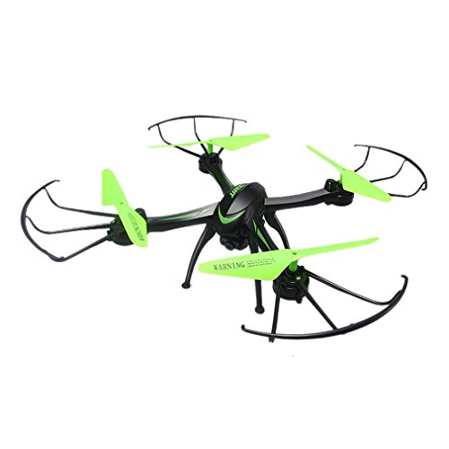 Inkach Headless Mode RC Quadcopter Drone 2.4G 6-Axis Gyro 3D Flips&Rolls Altitude Hold with 0.3MP Camera (Black) by Inkach