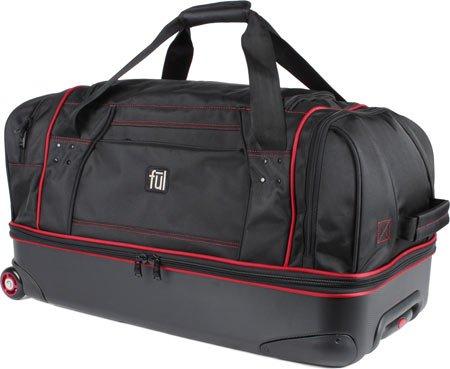 ful-hardside-wheeled-duffel-28-inch-black
