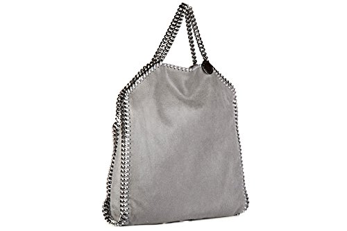 main gris deer tote femme sac Stella shaggy à forever Mccartney falabella Snx7tvqCZw