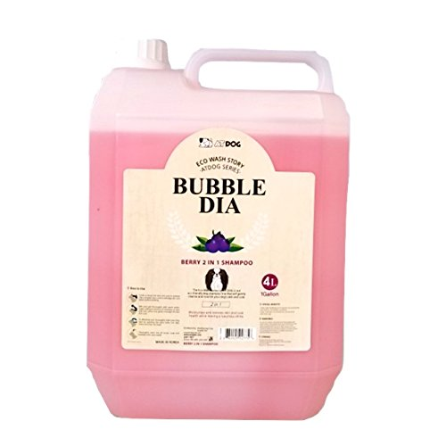 Alpha Dog Series ''Bubble Dia Shampoo & Conditioner Series - (1 Gallon) (Berry 2 in 1 Shampoo) by Alpha Dog Series