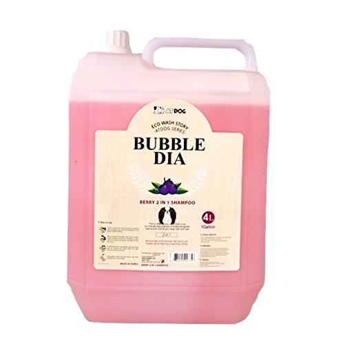 Alpha Dog Series ''Bubble Dia Shampoo & Conditioner Series - (1 Gallon) (Berry 2 in 1 Shampoo)