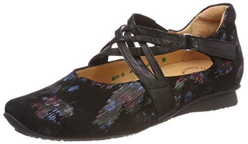 09 Black Sz Ballet Think Kombi Sz Women's 282109 Kombi Chilli Flats Strap 09 Ankle Awv80qw