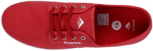 Emerica WINO 6101000088, Scarpe da skateboard uomo Rosso (Rot (Cardinal))