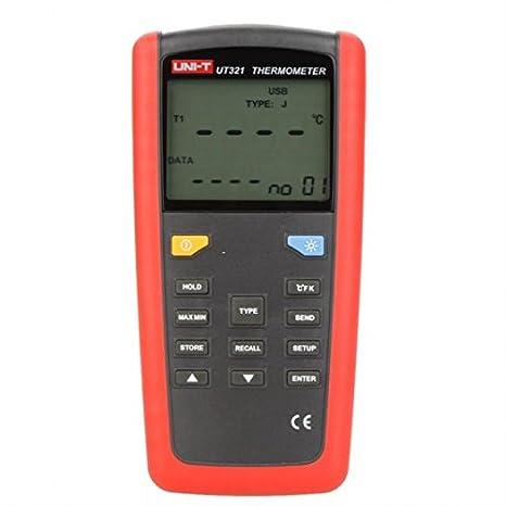 UNI-T ut321 Termómetro Digital K/J/T/E Tipo de sensor