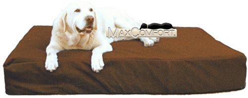 The original Max Comfort memory foam dog bed. World's Best T