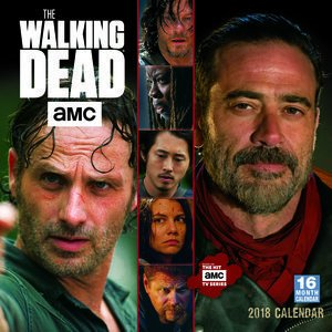 Calendario 2018 The Walking Dead- serie Americaine - Zombie ...