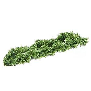 "Artificial Kale Runner Garnishing Green - 12""L x 3""W 39"