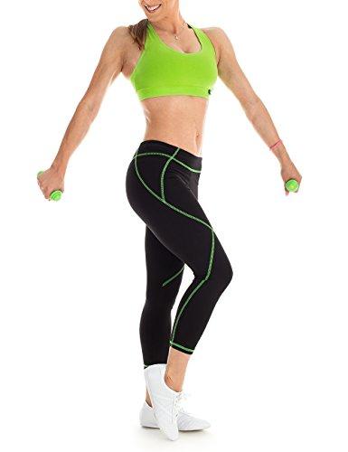 Winshape WVR1 Soutien-gorge de sport pour femme Pour loisirs XL Vert - Vert pomme