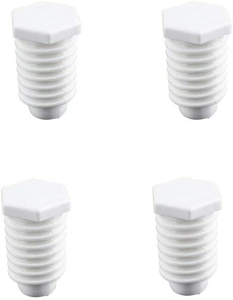 49621 Dryer Leveling Legs 4 Pack W10823505 For Kenmore Whirlpool AP4295805