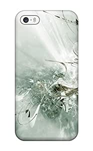 Durable Defender Case For Iphone 4s Tpu Cover(shapes Abstract)