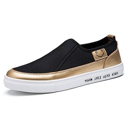 hydne-mens-fashionable-comfortable-flat-antiskid-casual-vintage-shoes43-m-eu-95-dm-usgolden