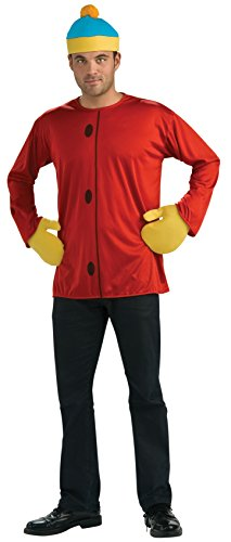 Rubie's Men's South Park's Cartman Costume, AS SHOWN, Small]()