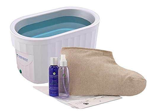Therabath Professional Paraffin Wax Bath + Foot ComforKit...