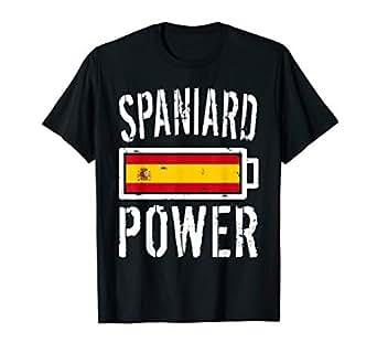 Amazon.com: Camiseta de la bandera de España con tecnología ...