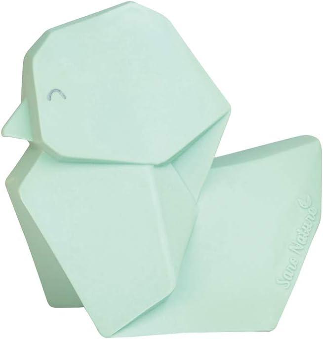 Kalencom SARO Origami Duck Teether Bath Toy and Pool Toy Yellow