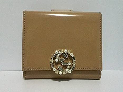 differently 82e34 491ee Amazon.co.jp: (グッチ)GUCCI Wホック財布 GGスパークリング ...