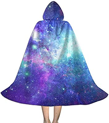RJRA Capa con Capucha para niños Galaxy out Space para Halloween ...