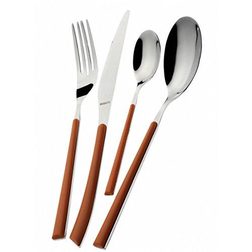 "Bugatti 24-piece Cutlery Set ""Lilac"" Inox 18/10 - Made in It"