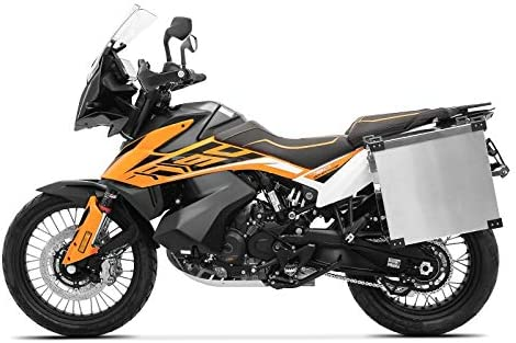 Sacoches Aluminium Supports 18mm pour Honda Varadero 125