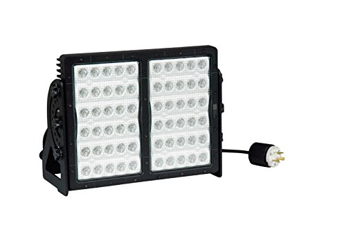 Dimmable High Intensity LED Light - 300 Watts - 60 LEDs - 29,580 Lumens - 120-277V AC(-Spot & Flood-L5-15 Twist)