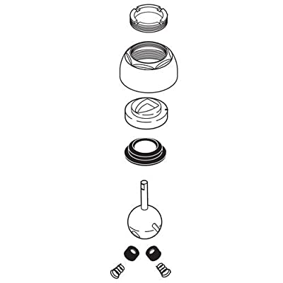 Delta RP44123-SS Repair Kit with Adjusting Ring, Cam and Packing, Ball Assembly,,