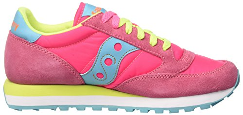 293 de Multicolore Saucony Chaussures Original Pinkyellow Jazz Cross Femme qTF817g