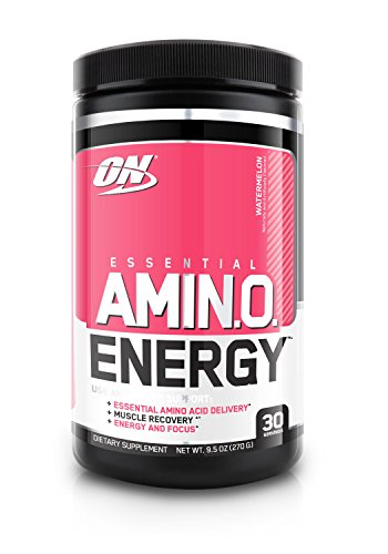Optimum Nutrition Amino Energy,  Watermelon, Preworkout and Essential Amino Acids with Green Tea and Green Coffee Extract, 30 Servings
