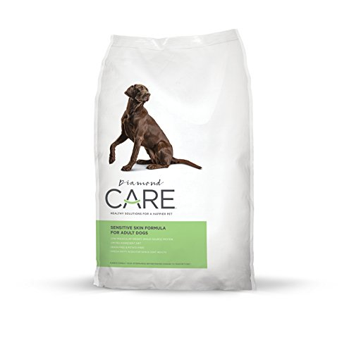Diamond CARE Sensitive Skin Recipe Specially Made as a Limited Ingredient Diet with Hypoallergenic Essentials to Support Dogs with Sensitive Skin, Itchy Skin or Allergies 25lb by Diamond Pet Foods