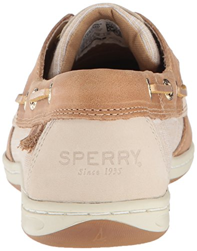 Linen M Koifish Shoe Sperry gold Boat Us Top Women's Crosshatch sider Sparkle 7 pwqOaHw