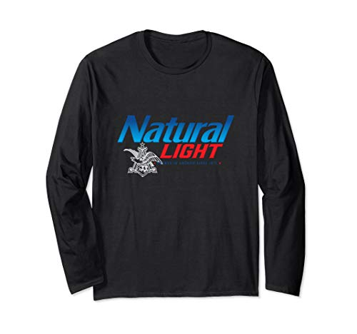Natural Light Logo Long Sleeve Shirt (Light Logo Natural)