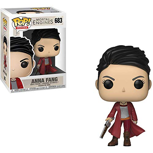 Funko Anna Fang: Mortal Engines x POP! Movies Vinyl Figure & 1 PET Plastic Graphical Protector Bundle [#683 / 34678 - B]]()
