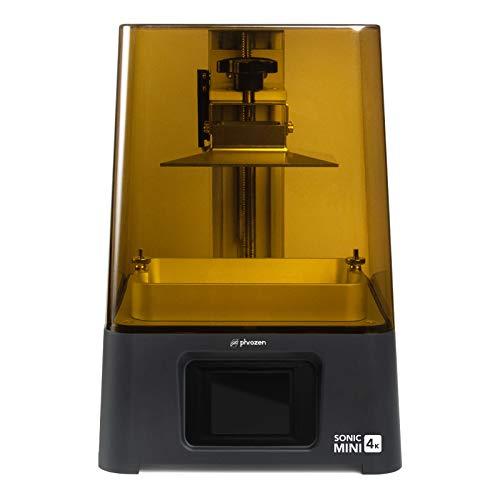 Phrozen Sonic Mini 4K LCD Resin 3D Printer, Monochrome/Mono LCD Screen, Matrix LED UV Light Tech, Longer Working Hours…