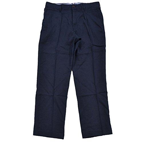Polo Ralph Lauren Classic-Fit Linen Mens Pants (32W x 30L, Navy) ()