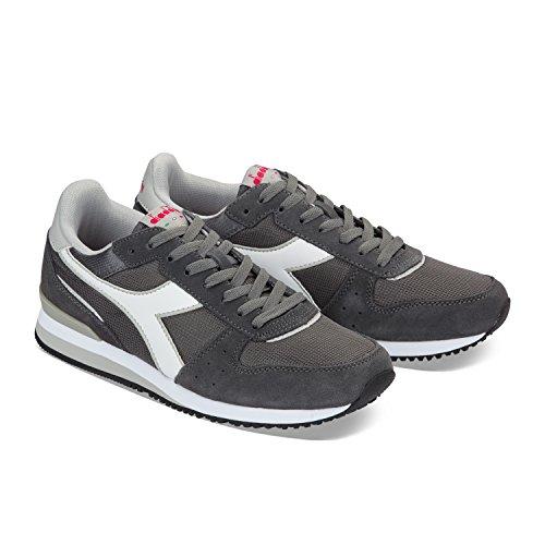 Grigio Malone Diadora gr Alluminio Acciaio Sneaker C7054 Uomo wZx7zqId