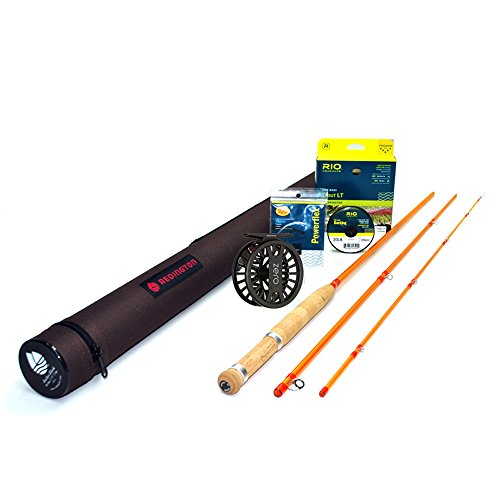 Cheap Redington Butter Stick 476-3 Fly Rod Outfit (7'6″, 4wt, 3pc)