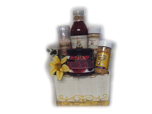 Spice of Life Gourmet Healthy Gift Box by Well Baskets by Well Baskets