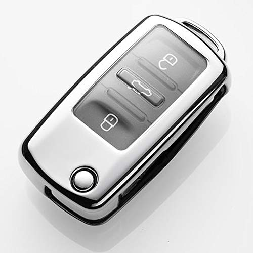 QBUC for VW Volkswagen Key Fob Cover, Soft TPU Full for sale  Delivered anywhere in USA