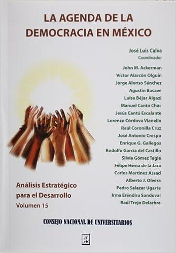 Analisis estrategico para el desarrollo, vol. 15. La agenda ...