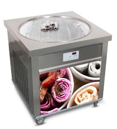 Amazon.com: Solo redondo sartén freír máquina de helados ...