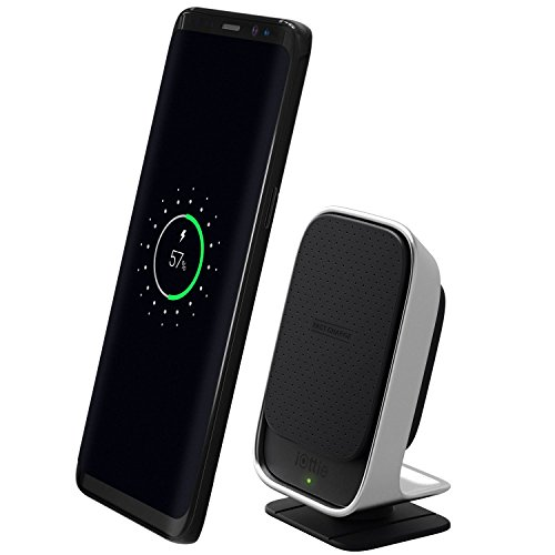iOttie iTap Wireless Qi Wireless Car Mount & Desk Stand with Fast Charge for Samsung Galaxy S9 S9 Plus S8, S7/S7 Edge, Note 8 5 & Qi Enabled Devices