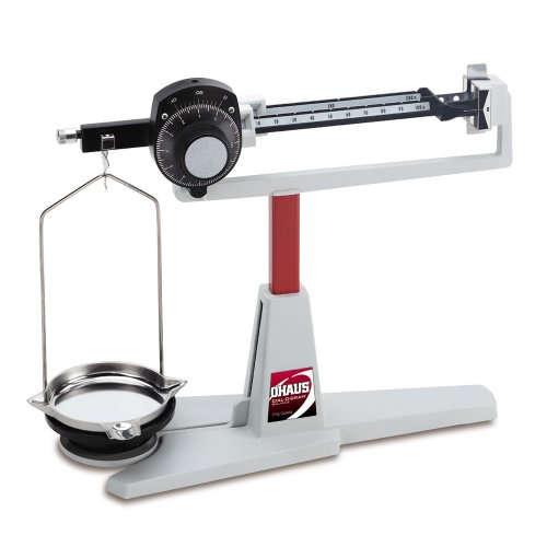 Ohaus Dial-O-Gram Stainless Steel Overhead Mechanical Balance, 310g x - Ohaus Dial