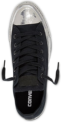 Converse 156774 Chuck Taylor All Star Unisex Sneaker (black/silver)