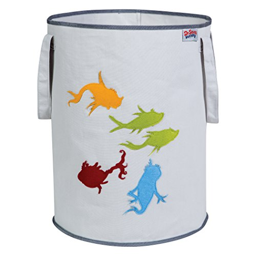 Trend Lab Dr. Seuss Fish Storage Tote, (Dr Seuss One Fish)