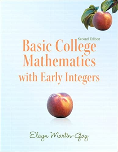 Amazon.com: Basic College Mathematics with Early Integers plus ...