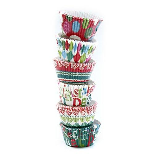 Meri Meri Tis the Season Petite Cupcake Kit, Makes 120